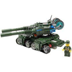 Kazi Gao Bo Le GBL Bozhi KY81007 Military Army Apocalypse Tank Xếp Hình Xe Tăng Thế Hệ Mới 380 Khối