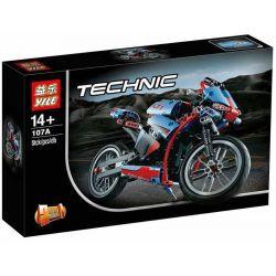Yile 107A Lele 38020 Technic 42036 Street Motorcycle Xếp hình Siêu Xe Mô Tô Đường Trường 391 khối