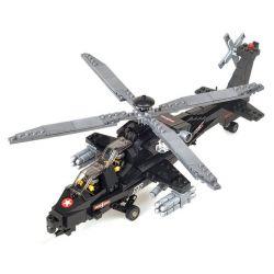 Kazi Gao Bo Le GBL Bozhi KY98405 Military Army Armed Forces Helicopter Xếp Hình Trực Thăng Tấn Công 480 Khối