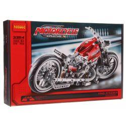 Decool 3354 Technic 8051 Motorbike Style 2 Xếp Hình Xe Mô Tô Harley Davidson (Mẫu 2) 378 Khối