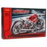 Decool 3354 Technic 8051 Motorbike style 2 Xếp hình xe mô tô Harley Davidson 378 khối
