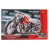 Decool 3354 (NOT Lego Technic 8051 Motorbike Style 2 ) Xếp hình Xe Mô Tô Harley Davidson (Mẫu 2) 467 khối