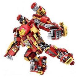Sembo 60030 Sheng Yuan MK44 Super Heroes Iron Man Xếp Hình Người Sắt 500 Khối