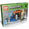 Lepin 18006 (NOT Lego Minecraft Minecraft ) Xếp hình 4 Trong 1 494 khối