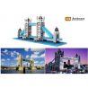 Loz 9371 Nanoblock Architecture London Tower Bridge Xếp hình Cầu Tháp Luân Đôn 570 khối