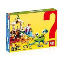 Lepin 42014 (NOT Lego Classic 10403 World Fun ) Xếp hình Thế Giới Diệu Kỳ 330 khối