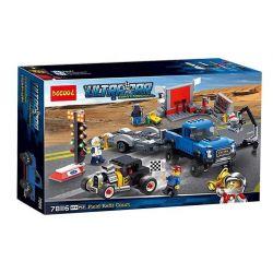 Decool 78116 (NOT Lego Speed Champions 75875 Ford F-150 Raptor & Ford Model A Hot Rod ) Xếp hình Trạm Sửa Chữa Đội Ford 674 khối