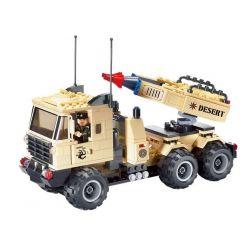 Enlighten 822 (NOT Lego Military Army Missile Car ) Xếp hình Xe Tải Phóng Tên Lửa 310 khối