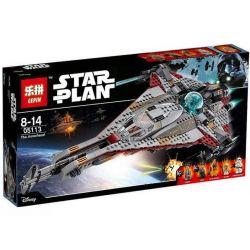 Lepin 05113 Star Wars 75186 The Arrowhead Xếp hình Phi thuyền mũi tên 800 khối