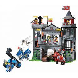 Enlighten 1021 Castle Eagle Castle Xếp Hình Tấn Công Lâu đài đại Bàng 568 Khối