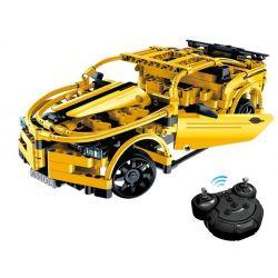 Doublee Cada C51008 C51008W (NOT Lego Technic Sports Car ) Xếp hình Xe Thể Thao Động Cơ Pin Xạc Điều Khiển Từ Xa 416 khối