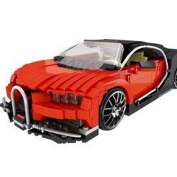 XingBao XB-03009 Creator MOC Bugatti Veyron Xếp hình Siêu xe ô tô 859 khối