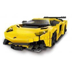 XingBao XB-03008 Creator MOC Lamborghini Aventador Xếp hình Siêu xe ô tô 834 khối