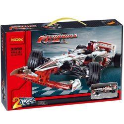 Decool 3366 Technic 42000 Grand Prix Racer Xếp hình Xe đua thể thức 1 1219 khối