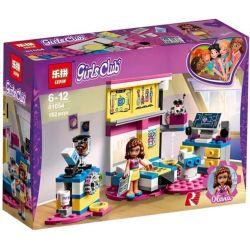 Lepin 01054 Sheng Yuan 1028A SY1028A (NOT Lego Friends 41329 Olivia´s Deluxe Bedroom ) Xếp hình Phòng Ngủ Sang Trọng Của Olivia 182 khối