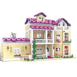 XingBao 12006 Friends MOC The Happy Dormitory Xếp hình Ký túc xá vui nhộn 1334 khối