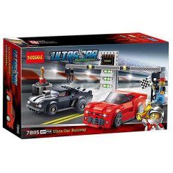 Decool 78115 Speed champion 75874 Chevrolet Camaro Drag Race Xếp hình Xe đua Chevrolet Camaro Drag Race 454 khối
