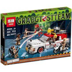 Lepin 16032 Ghostbusters 75828 Ecto-1 & 2 vehicles Xếp hình Ô tô của biệt đội săn bắt ma 586 khối