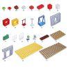 Lego Duplo 5639 Hystoys HG-1421 Family House Xếp hình nhà ông ngoại 83 khối