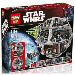 Lepin 05035 Lele 35000 Star wars 10188 Death Star Xếp hình Ngôi Sao Chết 3804 khối
