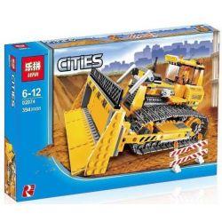 Lepin 02074 Technic 7685 Construction Dozer Xếp Hình Xây Dựng Dozer 394 Khối