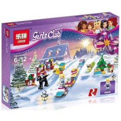 Lepin 01041 Friends 41326 Advent Calendar Xếp hình Đến với lễ hội lịch 243 khối