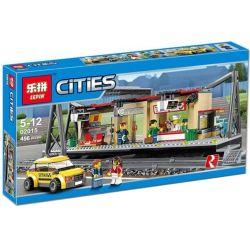 Lepin 02015 (NOT Lego City 60050 Train Station ) Xếp hình Nhà Ga Xe Lửa 456 khối
