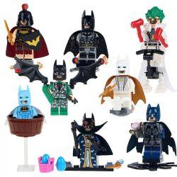 Sheng Yuan SY683 Batman MOC Joker Rome Batman With Purple Cape Clown Robin Set Xếp hình Batman và tên hề áo choàng màu tía 166 khối