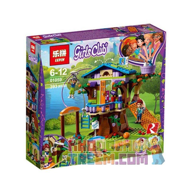 Lepin 01059 Sheng Yuan 1031 SY1031 Lele 37074 (NOT Lego Friends 41335 Mia's Tree House ) Xếp hình Nhà Trên Cây Của Mia 393 khối