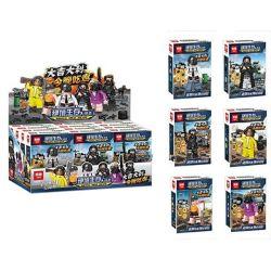 Lepin 03079 (NOT Lego Survival Great Escape 6 Minifigures ) Xếp hình 6 Nhân Vật Game Bắn Súng 171 khối