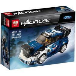 Lepin 28015 Sheng Yuan 6778 Bela 10945 Speed Champions 75885 Ford Fiesta M-Sport Wrc Xếp hình Xe Thể Thao Ford Fiesta 227 khối