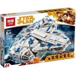Lepin 05142 Lele 35029 Sheng Yuan 1077 SY1077 Bela 10915 Star wars 75212 Kessel Run Millennium Falcon Xếp hình Phi Thuyền Bay Millennium Falcon 1584 khối