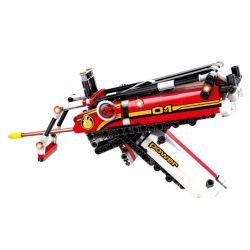 Sheng Yuan SY7017 Technic Iron Man Weapon Xếp hình Vũ Khí Tối Tân Của Người Sắt 305 khối