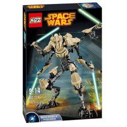 XSZ KSZ 714 Decool 9016 (NOT Lego Star wars 75112 General Grievous ) Xếp hình Tổng Tư Lệnh Grievous 186 khối