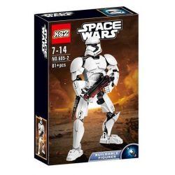 XSZ KSZ 605-2 Decool 9018 (NOT Lego Star wars 75114 First Order Stormtrooper ) Xếp hình Binh Lính First Order Của Quân Đội Chủ Lực Đế Chế Thiên Hà 81 khối
