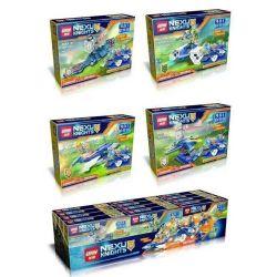 Lepin 14016 (NOT Lego Nexo Knights 4 In 1 ) Xếp hình 4 Trong 1 156 khối