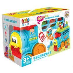 Jun Da Long Toys Jdlt 2080 Mega Bloks Giant Worm Train Xếp hình Chú Sâu Tàu Lửa Khổng Lồ 48 khối