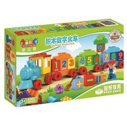 Jun Da Long Toys Jdlt 5300A Duplo Digital Train Xếp hình Đoàn Tàu Tập Đếm 53 khối