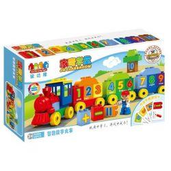 Jun Da Long Toys Jdlt 5306A (NOT Lego Duplo Digital Train (Small) ) Xếp hình Chú Tàu Hỏa Tập Đếm (Cỡ Nhỏ) 45 khối