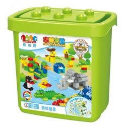 Jun Da Long Toys Jdlt 5319A (NOT Lego Duplo Animals On River ) Xếp hình Các Loài Động Vật Bên Sông 150 khối