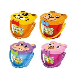 Jun Da Long Toys Jdlt 5313A (NOT Lego Duplo Drum ) Xếp hình Các Loài Thú Hình Hộp 68 khối