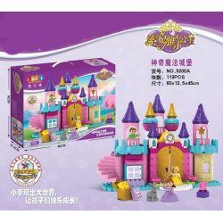 Jun Da Long Toys JDLT 5200A Disney Princess Castle Of Friends Xếp Hình Lâu Đài Của Bạn Và Tôi 113 Khối