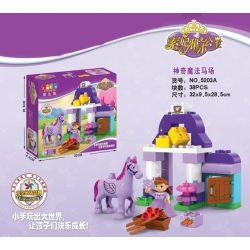 Jun Da Long Toys Jdlt 5203A Duplo Magic Horse Farm Xếp hình Sofia Và Trại Ngựa Thần 38 khối