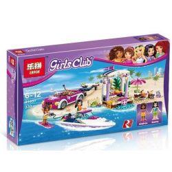Lepin 01037 Lele 37039 Bela 10758 Decool 80218 Friends 41316 Andrea's Speedboat Transporter Xếp Hình Xe Chở Du Thuyền Của Andrea 330 Khối