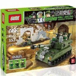 Gudi 600009A| 8002 Military Army Armed Assault Xếp Hình Xe Tăng 352 Khối