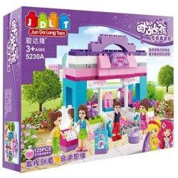 Jun Da Long Toys JDLT 5230A Friends Beauty Shop Xếp Hình Cửa Hàng Mỹ Phẩm Vui Vẻ 125 Khối