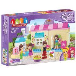 Jun Da Long Toys JDLT 5232A Friends Convenient Store Xếp Hình Cửa Hàng Tiện Ích 73 Khối