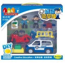 Jun Da Long Toys JDLT 5138A Duplo Dream Of Police Xếp Hình Tập Làm Chú Cảnh Sát Khối
