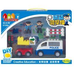 Jun Da Long Toys JDLT 5139A Duplo Dream Of Police Xếp Hình Chú Cảnh Sát Oai Vệ Khối