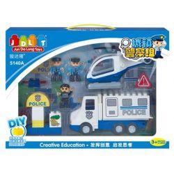 Jun Da Long Toys JDLT 5140A Duplo Police Arm Xếp Hình Đội Quân Cảnh Sát Khối